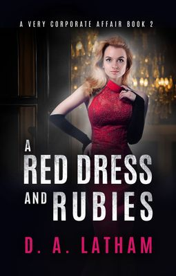 D.A Latham | A Red Dress and Rubies